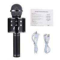 Беспроводной стерео микрофон с динамиком и Bluetooth, Караоке Wester WS-858