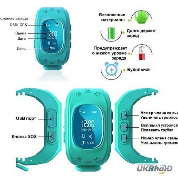 Фото 4. Q50 G36 умные смарт часы телефон для детей с функциями Gps трекер GSM мониторинг прослушка