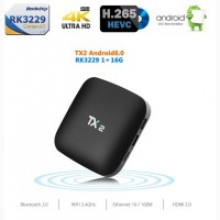 TX2 - новый Android Smart TV Box на Rockchip RK3229, Android 6.1, 1/16Gb