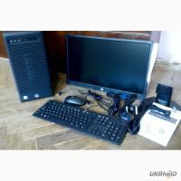 Hewlett-Packard i3-6100 3. 7 ГГц RAM 4 ГБ HDD 500 Монитор колонки клавиатура мышка