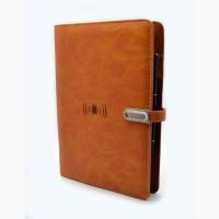 Эксклюзивный органайзер-ежедневник с зарядным устройством, подчеркнет Ваш стиль
