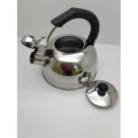 Чайник из нержавеющей стали А-Плюс 1324 со свистком, 2, 5 л