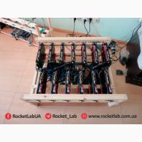 Майнинг ферма на 13 видеокарт GTX1060 3GB MSI GAMING X (ОС Linux)