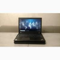 Робоча станція Lenovo Thinkpad P50, 15, 6#039; FHD IPS, i7-6820HQ, 512GB SSD новий, 32GB, NVIDIA 4GB