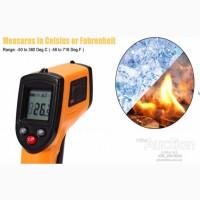 Пирометр, Цифровой бесконтактный Инфракрасный ИК-Термометр от -50 до 380 градусов