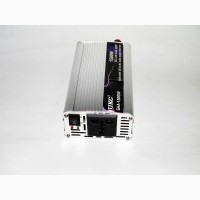 Преобразователь (инвертор) 12V-220V 1500W black/silver