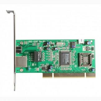 Сетевая карта 1 Гбит (10/100/1000 Мбит) D-Link DGE-528T