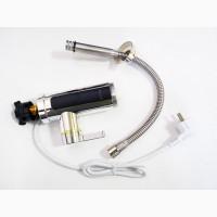 Чудо гибкий кран с экраном хром.пластик Delimano RX-011-1 Проточный водонагреватель бойлер