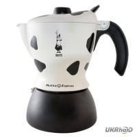 Гейзерная кофеварка для приготовления капучино Bialetti Mukka Express