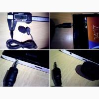 Мини микрофон, микрофон-петлица 30 Гц ~ 15000 Гц мини 3.5 мм