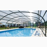 Накрытия для бассейнов: павильоны, тенты, ограждения
