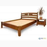 Двухспальные кровати из натурального массива дерева