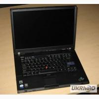 Нерабочий ноутбук Lenovo IBM T61 на запчасти