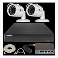 IP Комплект Відеоспостереження GV-ІР-К-L21/02 1080 P