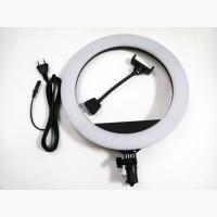 Кольцевая LED лампа ZB-R14 35см 220V 3 крепл.тел. + пульт + чехол