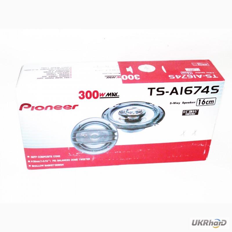 Фото 7. Колонки (динамики) Pioneer TS-A 1674S 16 см 250 W 2х полосная