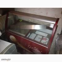 Продам витрину морозильную для мороженного Crystal Venus Elegante б/у в ресторан, кафе