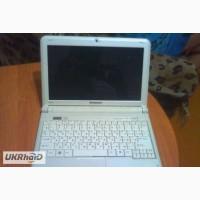 Нерабочий ноутбук Lenovo IdeaPad S12(белого цвета) на запчасти