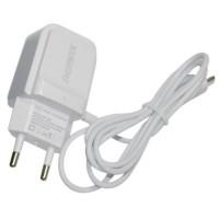 СЗУ зарядное адаптер 220V USB Micro USB REMAX RP-U33 БЕЛЫЙ