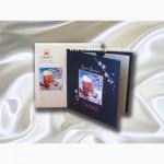Креативные фирменные открытки с логотипом. Под заказ от 100 шт