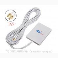 MIMO антенна 2G/3G/4G LTE 791-2690 МГц 2хTS9 2.8 дБ