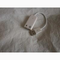 Звуковая карта USB 7.1 Apple для ноутбука, ПК