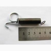 Пружина для фиксации двери клетки для кролика с зацепом для пальца. Купить пружину клетки