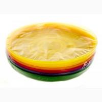 M17-110038, Набор пластиковых тарелок, универсальное, разноцветный