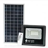 LED светильник 25W с солнечной панелью 12W, аккумулятор 5500mAh