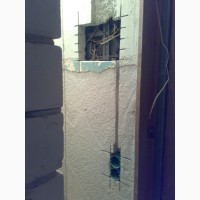 Штробление стен.Алмазная резка штроб в Харькове