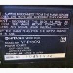 Продам пишущий видеоплейер Hitachi VT-P75