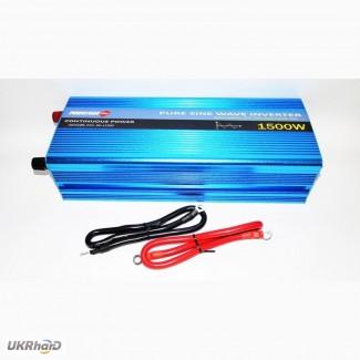 Powerone 1500W Преобразователь с чистой синусоидой AC/DC 12v