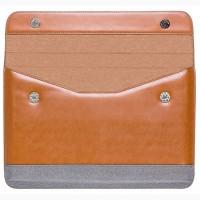 Элитный чехол-кейс для ноутбука, Макбук Apple. 100 % кожа