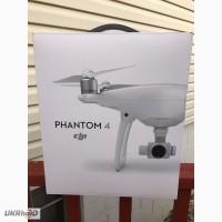 DJI Phantom 4 Quadcopter Drone с 4-каратной стабилизированной 12-мегапиксельной камерой