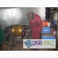 Замена секций в высоковольтных электродвигателях