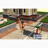 Монтаж наружных труб канализации Днепре и области