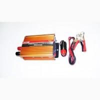 Преобразователь (инвертор) 12V-220V 500W Gold