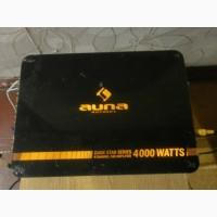 Автомобильный усилитель звука AUNA, 4 канала, 4000W