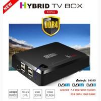 KI PRO DVB S2/T2/C - гибридный UltraHD тюнер S2/T2/C, Amlogic S905D, Android 7.1, 2/16G
