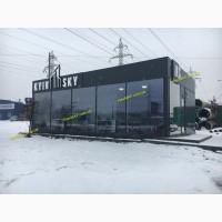 Изготовление модульных, мобильных офисов продаж, торговых павильонов. Киев МАФ