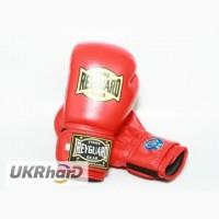 Боксерские перчатки 10ун с печатью ФБУ красные Боксерские перчатки ФБУ Кожа REYGUARD