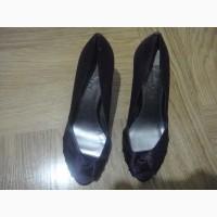 Туфли фиолетовые атласные вечерние. Размер 37
