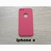 Чехол Бампер на iPhone 8 Красный