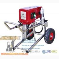 Мощный поршневой окрасочный агрегат Airless 6840iL на 2 поста