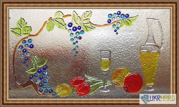 Картина своими руками из стекла