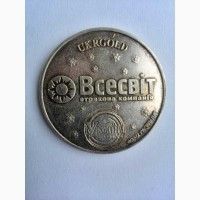 Продается редкая серебряная монета 2002 года выпуска