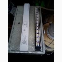 Патчпанель 24 порта в серверный шкаф, блок вентиляторов