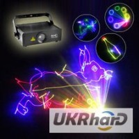 Анимационная полноцветная лазерная установка Reke 500 RGB