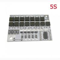BMS 3S 4S 5S 100А 16V Контроллер заряда разряда защита LiFePO4 аккумулятора c балансиром