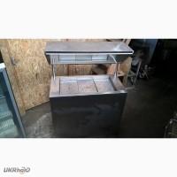 Вітрина холодильна б/у для викладки на льоду
